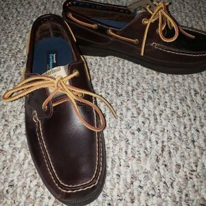Timberland Men's 2-Eye Boat Shoes Brown Size 11